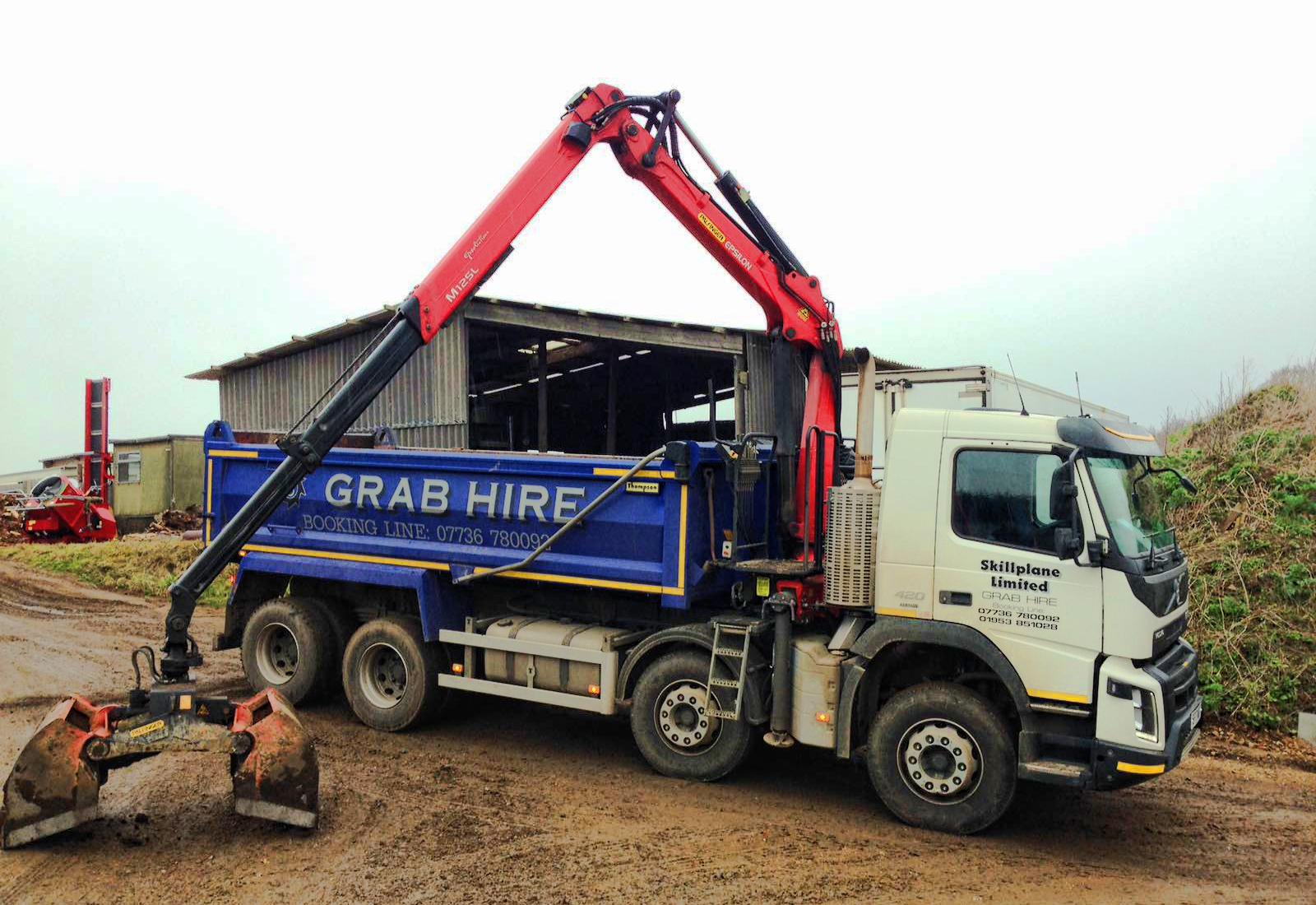 Grab lorry hire Norwich